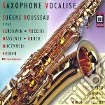 Saxophone vocalise cd musicale di Miscellanee