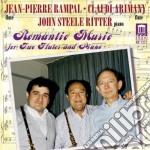 Musica romantica per due flauti e pianof cd musicale di Miscellanee