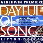 Dayful of song cd musicale di George Gershwin