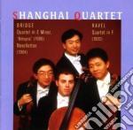 Quartetto per archi in fa maggiore cd musicale di Maurice Ravel