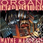 Improvvisazioni per organo cd musicale di Miscellanee