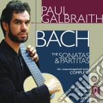 Sonate e partite (trasc.per chitarra) cd musicale di Johann Sebastian Bach