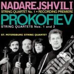 Quartetto per archi n.1 op.50 cd musicale di Sergei Prokofiev