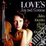 Love's joy and sorrow - musica per violi cd musicale di Fritz Kreisler