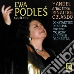 Arie da rinaldo e da orlando cd musicale di Handel georg friedri