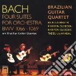 Suites per orchestra bwv 1066-1069 cd musicale di Bach