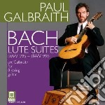 Suites per chitarra cd musicale di Bach