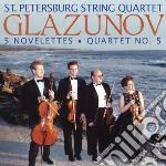 Novelettes op.15, quartetto per archi n. cd musicale di Alexander Glazunov