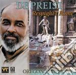 Fontane di roma, pini di roma, feste rom cd musicale di Ottorino Respighi