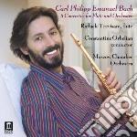 Concerti per flauto cd musicale di Bach carl philip ema