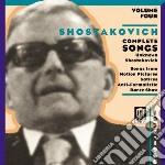 Integrale delle romanze vol.4 cd musicale di Dmitri Sciostakovic