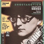 Romanze da camera vol.5 cd musicale di Dmitri Sciostakovic