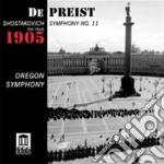 Sinfonia n.11 op.103 'l'anno 1905' cd musicale di Dmitri Sciostakovic