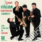 The sound of the italian saxophone quart cd musicale di Miscellanee