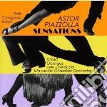 Sensations cd musicale di Astor Piazzolla