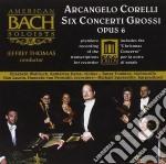 Concerti op.6 (vers.per flauto dolce) cd musicale di Arcangelo Corelli