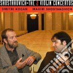 Concerti per violino nn.1,2 cd musicale di Dmitri Sciostakovic