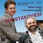 Concerti per pianoforte nn.1,2 cd musicale di Dmitri Sciostakovic