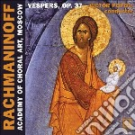 All-night vigil op.37, 'vespers' cd musicale di Sergei Rachmaninov