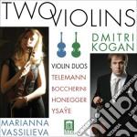 Opere per violino - duetto per due violi cd musicale di Luigi Boccherini