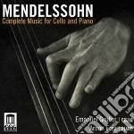 Integrale della musica per violoncello e cd musicale di Felix Mendelssohn