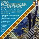 Concerto per pianoforte n.4 op.58, sonat cd musicale di Beethoven ludwig van