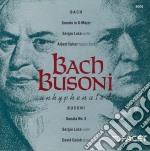 Bach - busoni - sonate cd musicale di Johann Sebastian Bach