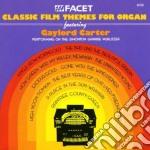 Classic film themes for organ cd musicale di Miscellanee