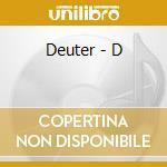D cd musicale di Deuter
