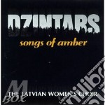 Songs of amber - cd musicale di Dzintars