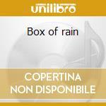 Box of rain cd musicale di Hunter Robert