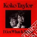 I got what it takes cd musicale di Taylor Koko