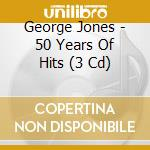 50 years of hits cd musicale di George Jones