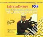 5 concerti x piano nn. 1< 5, sonata per cd musicale di Beethoven ludwig van