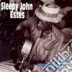 I ain't gonna be worried cd musicale di Sleepy john estes