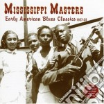 Early american blues cl. - cd musicale di Masters Mississippi