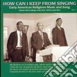 How can i keep... vol.1 - gospel cd musicale di Artisti Vari