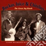 The great jug band vol.1 - cd musicale di Ruckus juice & chittlins