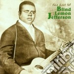 The best of cd musicale di Blind lemon jefferson