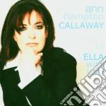 To ella with love cd musicale di Ann hampton callaway