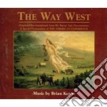 The way west - pellerossa cd musicale di Keane Brian