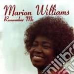 Remember me cd musicale di Marion Williams