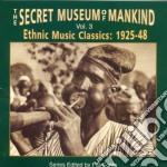 Vol.3 - cd musicale di Secret museum of mankind
