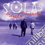 The words that remain - cd musicale di Solas