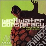 The scroll and its combinations cd musicale di Conspiracy Wellwater