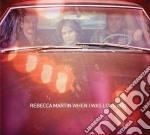 When i was long ago cd musicale di Rebecca Martin