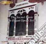 Musica sacra per organo cd musicale