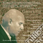 Gieseking plays beethoven cd musicale di Beethoven