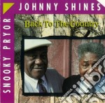 Back to the country cd musicale di Johnny shines & snoo