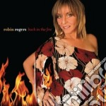 Back in the fire cd musicale di Robin Rogers
